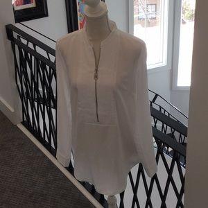 Michael Kors silk blend top